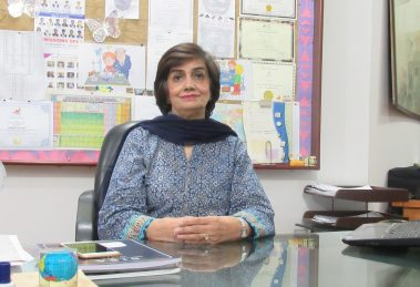 Saeeda Salim is the Director and Principal - School of International Studies in Sciences & Arts (SISA)