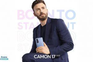 TECNO reveals superhero Chris Evans as brand ambassador for the new Camon 17 series