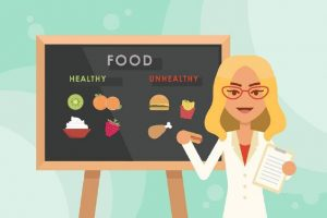 Nutritionist on the weight and health