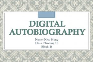Digital Autobiography - Your phone knows you best