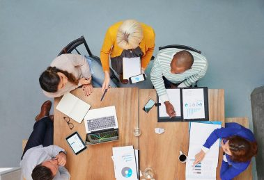 Group work brainstorming - learn about the most important benefits