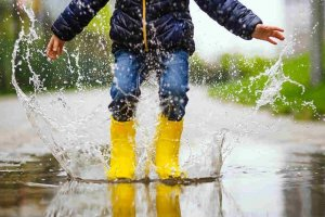 Children get bored when it rains. Do we really want to change the weather?